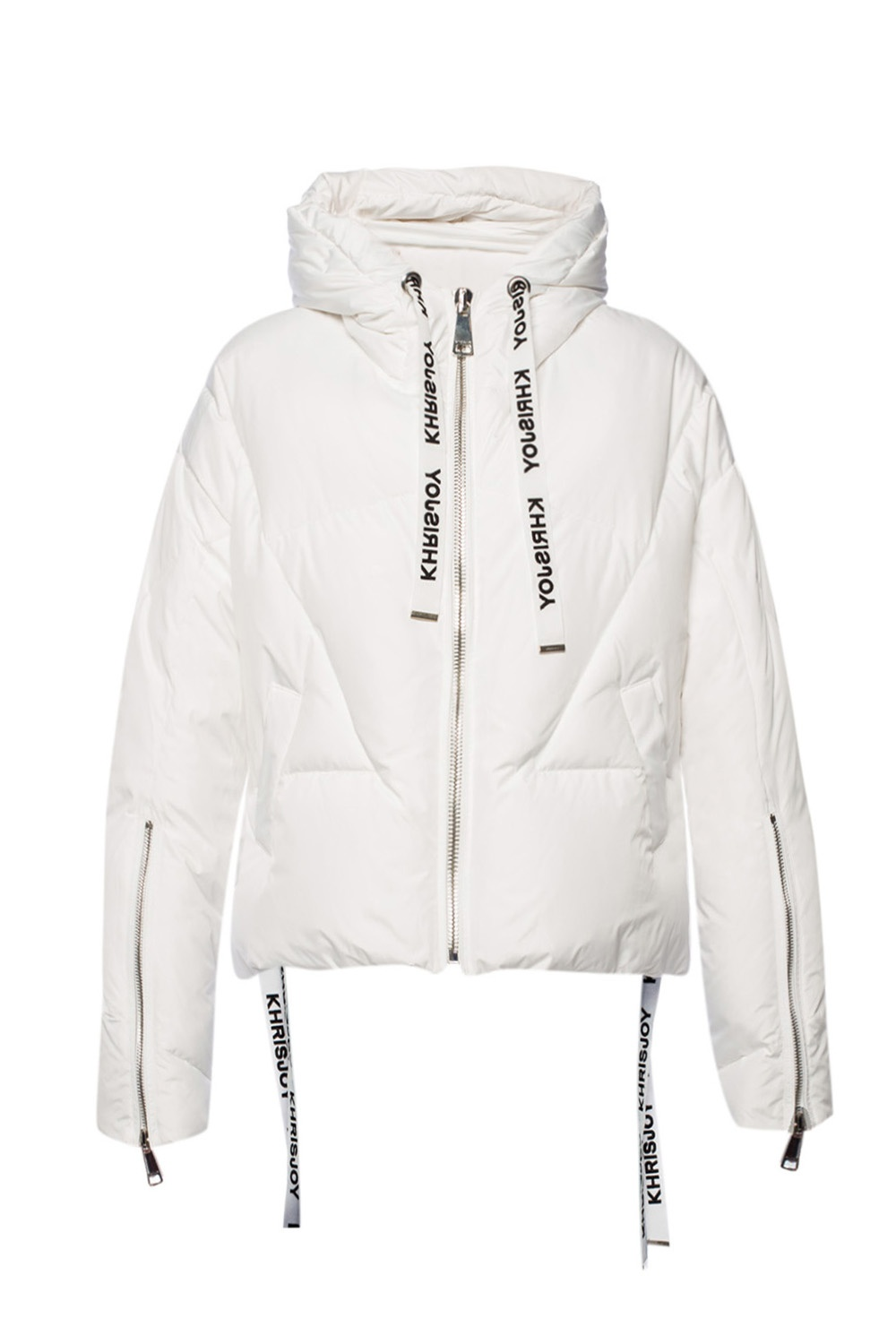 Khrisjoy 'Khris' quilted hooded down jacket