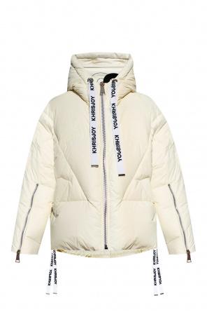 Down jacket with logo od Khrisjoy