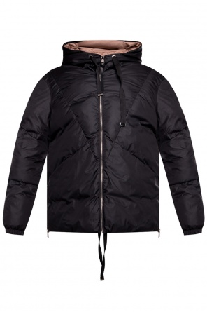 'allie' reversible hooded jacket od AllSaints