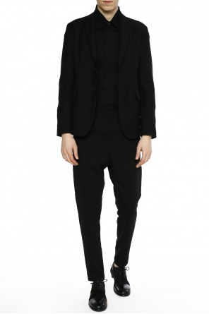 Blazer with notch lapels od Acne
