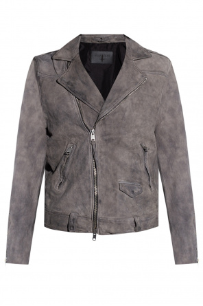 'antro' leather jacket od AllSaints
