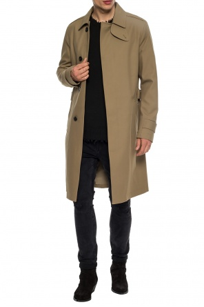 'apsley' coat with vent od AllSaints