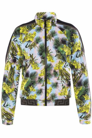Jacket with concealed hood od Versace