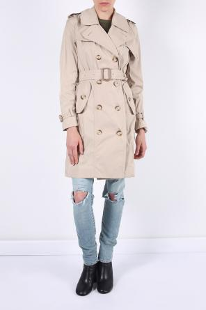 Double-breasted trench coat od Moncler