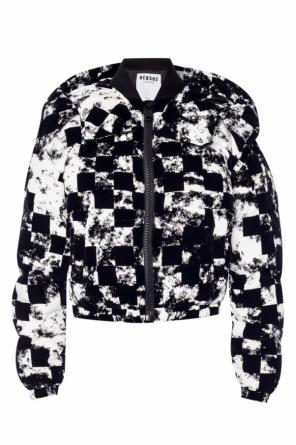 Quilted down jacket od Versace Versus