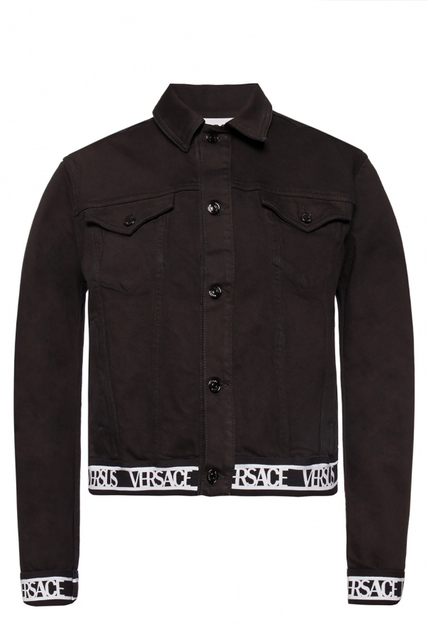 Branded denim jacket od Versace Versus