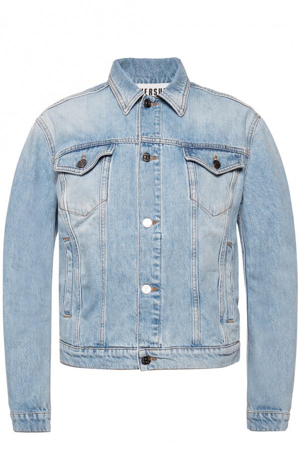 Branded denim jacket od Versace Versus
