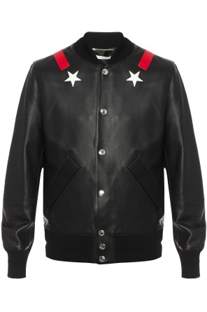 Patched bomber jacket od Givenchy