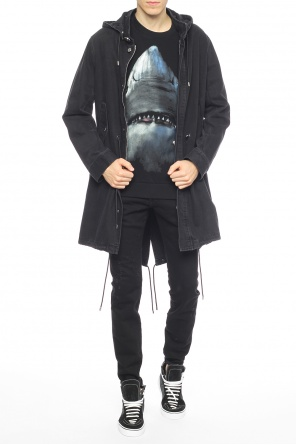 Denim parka od Givenchy