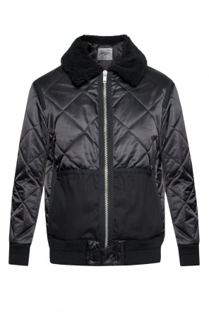 Quilted jacket with fur collar od Givenchy