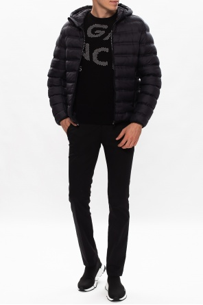 Hooded quilted jacket od Givenchy