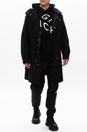 Hooded coat od Givenchy