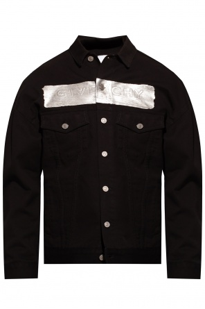 Denim jacket with logo od Givenchy