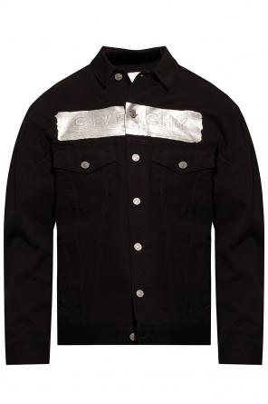Denim jacket with logo od Givenchy