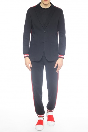 Blazer with notch lapels od Givenchy