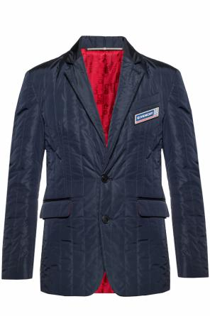 Quilted blazer with notch lapels od Givenchy