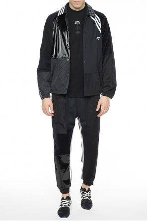 Logo-patched jacket od Adidas by Alexander Wang