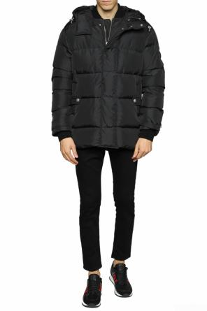 Hooded quilted jacket od Versace Versus