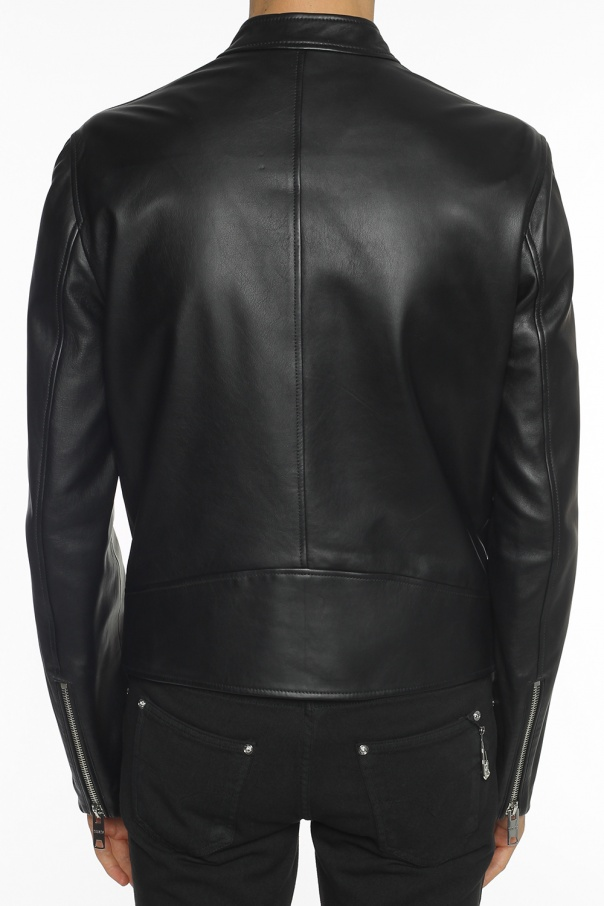 Band collar jacket od Versace Versus