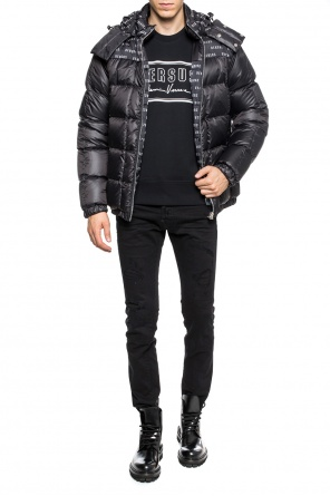 Reversible down jacket od Versace Versus