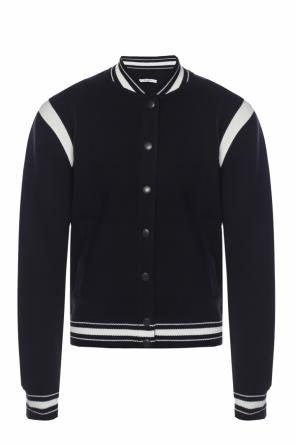 Branded bomber sweatshirt od Givenchy