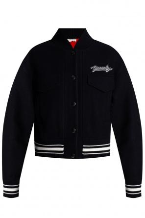 Logo-patched jacket od Givenchy