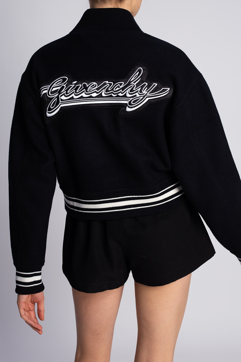 Givenchy Logo-patched jacket