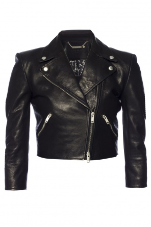Cropped biker jacket od Givenchy