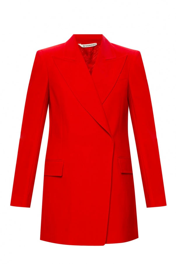 Givenchy Wool blazer with notch lapels