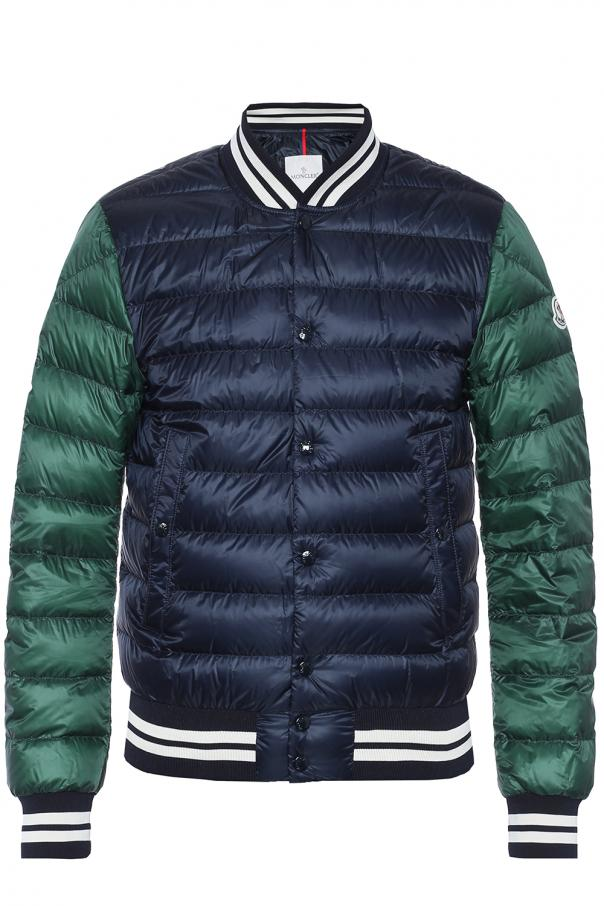 3cf7adf0e Quilted down bomber jacket Moncler - Vitkac shop online