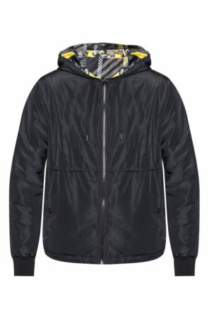 Reversible hooded jacket od Versace Jeans