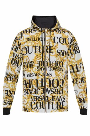 Reversible hooded jacket od Versace Jeans Couture