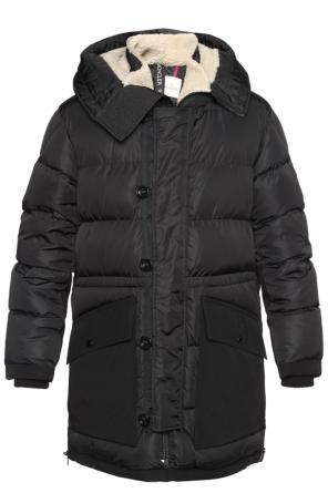 'loic' quilted parka od Moncler