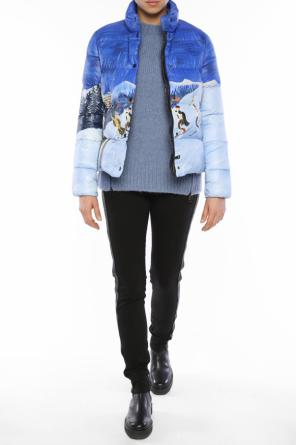 Printed quilted jacket od Moncler