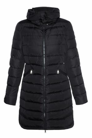 'flammette' quilted jacket od Moncler