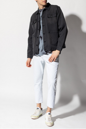 'callum' denim jacket od AllSaints