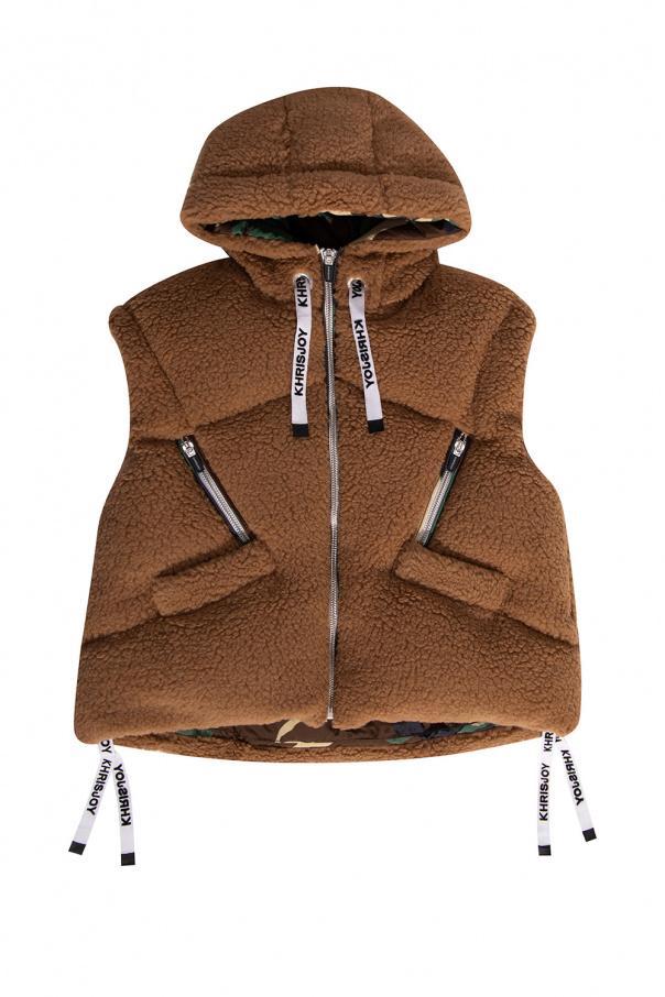 Khrisjoy Kids Hooded down vest