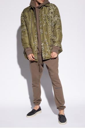 Paisley-printed jacket od Khrisjoy