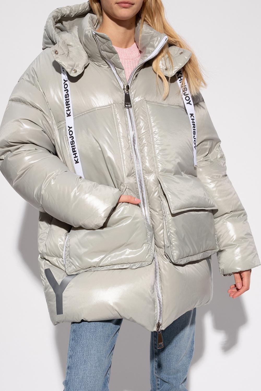 Khrisjoy Hooded down jacket