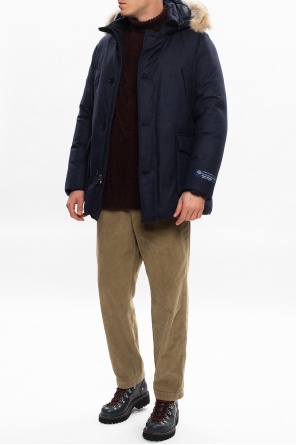 Down jacket with hood od Woolrich