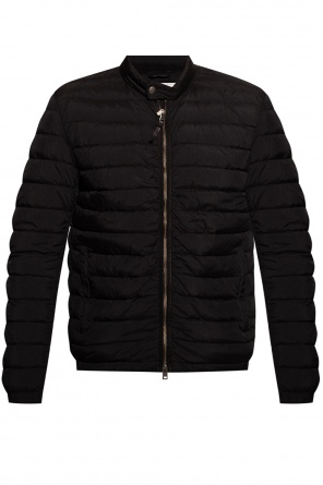 Quilted down jacket with logo od Woolrich