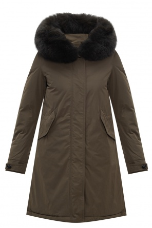 Hooded down parka od Woolrich