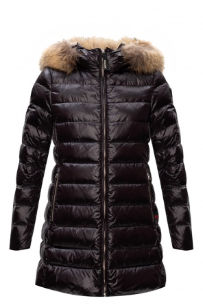 Hooded quilted down jacket od Woolrich