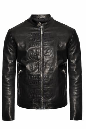 Logo-embroidered jacket od Dirk Bikkembergs