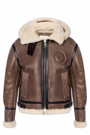 Branded fur jacket od Chloe
