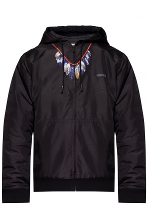 Jacket with logo od Marcelo Burlon