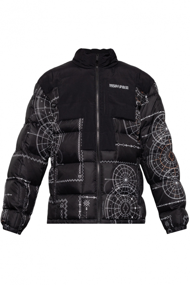 Marcelo Burlon Quilted jacket with print