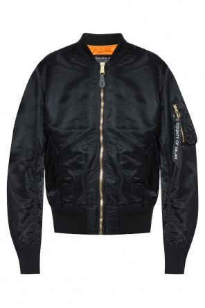 Patched bomber jacket od Marcelo Burlon