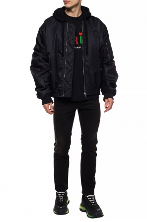 Hooded bomber jacket od Marcelo Burlon
