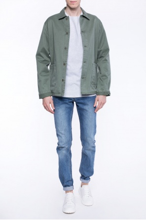 Parka with collar od A.P.C